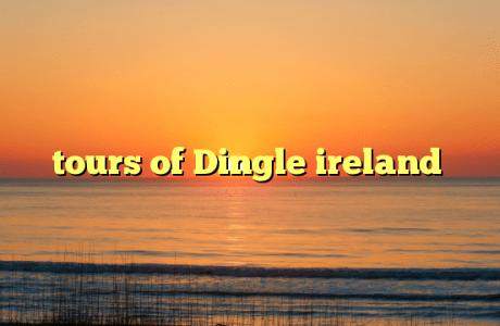tours of Dingle ireland
